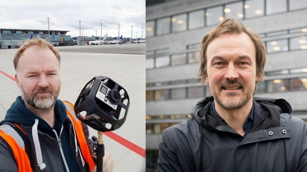 Eirik Helland Urke i TU og Jan Thoresen i SOL