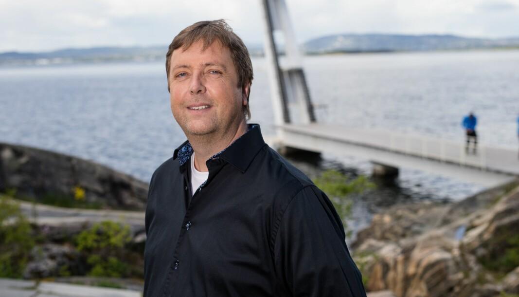 Tore Strømøy er kjent fra NRK og «Tore på sporet», men har også drevet avisen Frøya.no. Nå selger han seg ut. Foto: Audun Braastad / NTB Scanpix