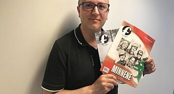 Jonny Karlsen (44) er ansatt i fast stilling som journalist i Forsvarets forum