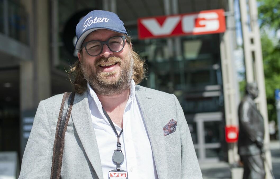 VG-vaktsjef Ken Andre Ottesen.