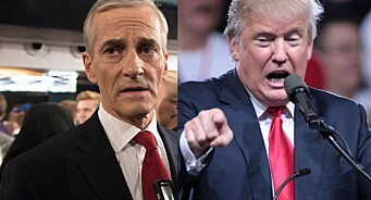 Gahr Støre ut mot Trump: - Slike uttalelser fra USAs president gjør journalister og redaktører mer sårbare