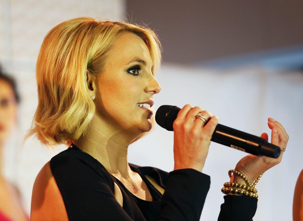 Britney Spears besøker Norge på fredag. Her er hun avbildet i forbindelse med et arrangement på Ekebergrestauranten i Oslo i 2014.Foto: Lise Åserud / NTB scanpix