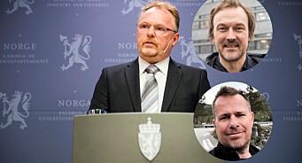 Nei, Per Sandberg truet ikke med karma. Redaktøren i Fiskeribladet inviterer til krenkefest