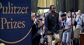 Pulitzerprisvinner nekter pressefotografer tilgang – Kendrick Lamar har fotonekt på Øya