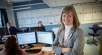 Mari Skurdal (40) brenner for avisa Klassekampen. Men den nye redaktøren bekymrer seg for papiravisens fremtid