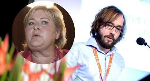Ingen overraskelse at Erna Solberg måttetrekke tilbake at hun brukte ordet «blodtørstig» om norske journalister