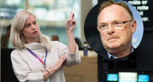 Per Sandberg har beskyldt TV 2 for å lyve. Det gjør ikke TV 2. Men vi retter og beklager to ting