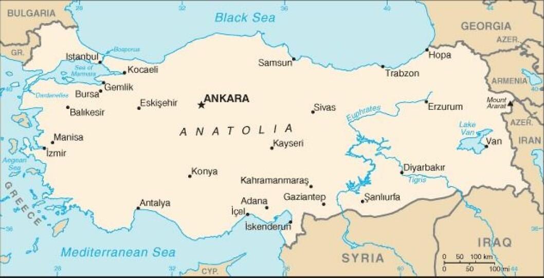 Tyrkia.