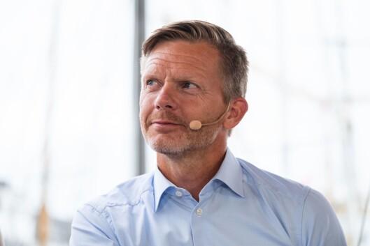 Mediepolitisk talsmann Tage Pettersen (H) under Arendalsuka onsdag.