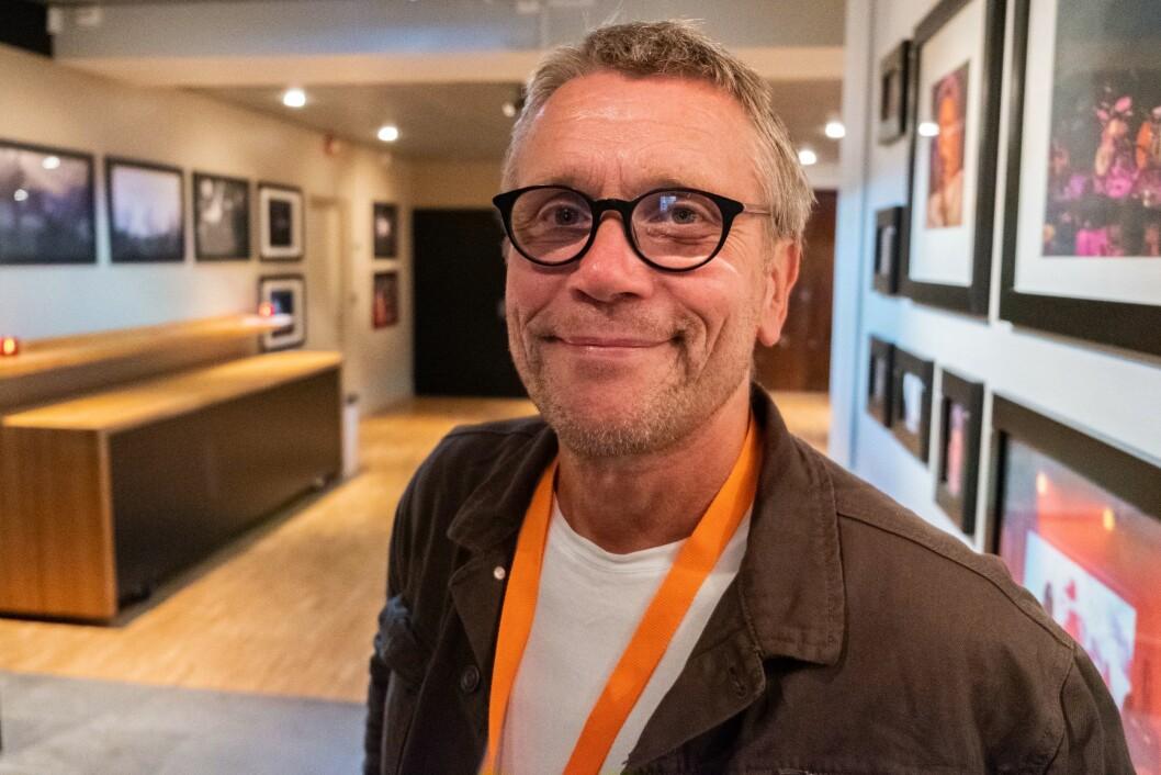 Kjetil Fless, ansvarlig redaktør i Naturpress.no fotografert under Arendalsuka 2018.