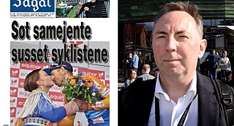 Tittelen «Søt samejente susset syklistene» får sterke reaksjoner: – Er Ságat en russeavis?