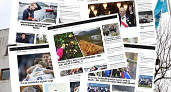 NRKs distriktskontorer har halvert antallet nettsaker. Samtidig er antallet lesere mer enn doblet