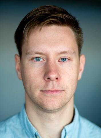Redaktør Markus A. Jensen.