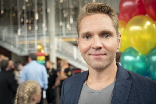 Programleder Jens Christian Nørve i Åsted Norge på TV 2.