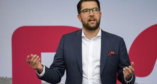 Sverigedemokraternas leder Jimmie Åkesson til frontalangrep på svensk P3: - En skitkanal