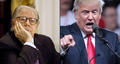Trump til angrep på Watergate-journalist Carl Bernstein: «Dikter opp sak etter sak»