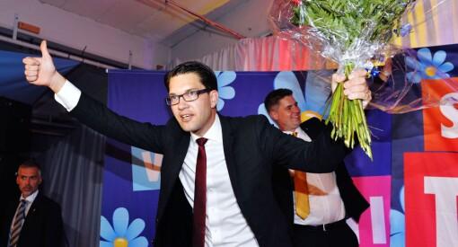 Svenskene går snart til valg. Skal en tro det som kommer frem i norske medier, finnes det bare ett parti som kan vinne