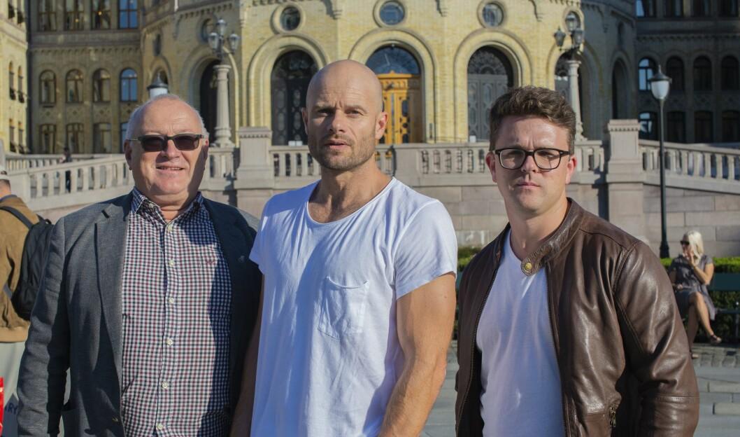 Rune Hetland, Thomas Frigård og Vegard Venli vil at norske lokalaviser skal lage mer journalistikk med utgangspunkt i kalenderinnsyn.
