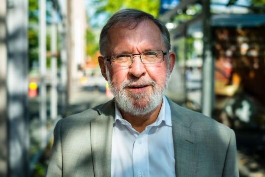 Styreleder Harald Stanghelle i Norsk Redaktørforening.
