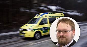 Nei, NRK: Det er ikke forbudt for privatpersoner å ta bilder av ulykker i Sverige