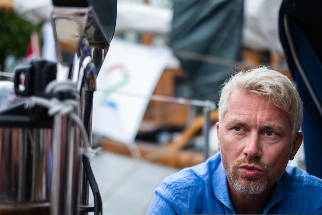 TV 2-sjef Olav T. Sandnes tror kanalens strømmetjeneste kan bidra til å øke omsetningen i 2021. Her er han avbildet under Arendalsuka i 2019.