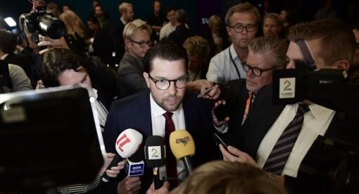 Sverigedemokraterna krever beklagelse fra SVT etter at kanalen tok avstand fra SD-leder