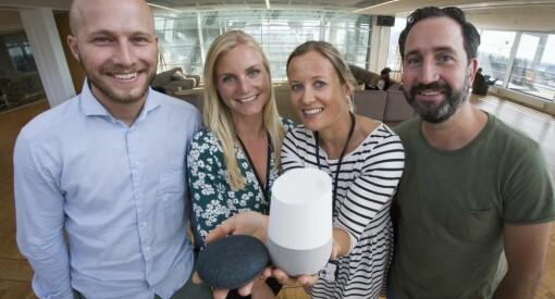 «Hey Google, kan jeg få snakke med VG?» Ja, det kan du faktisk - for i dag lanseres nyhetstjenesten på norsk