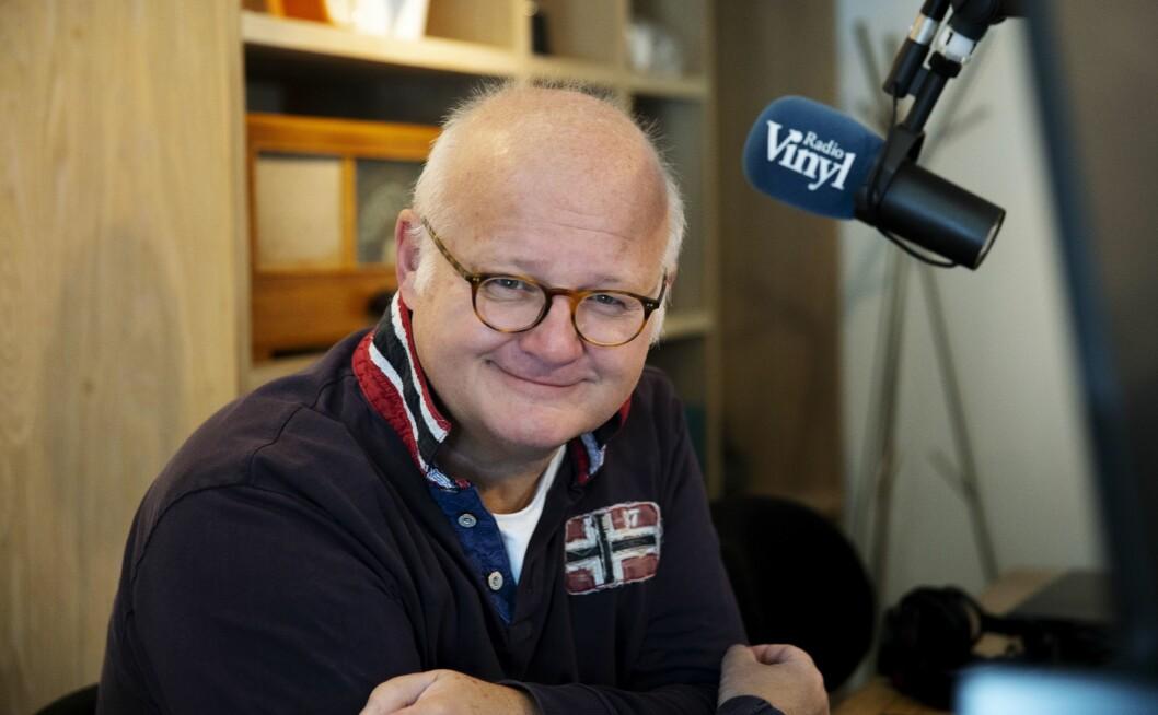 Finn Bjelke i Radio Vinyl hos Bauer Media.