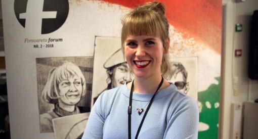 Silje Rønning Kampesæter er ny journalist i Forsvarets forum: – Gleder meg