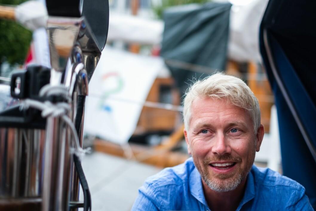 Olav Terjeson Sandnes, sjefredaktør og direktør i TV2.