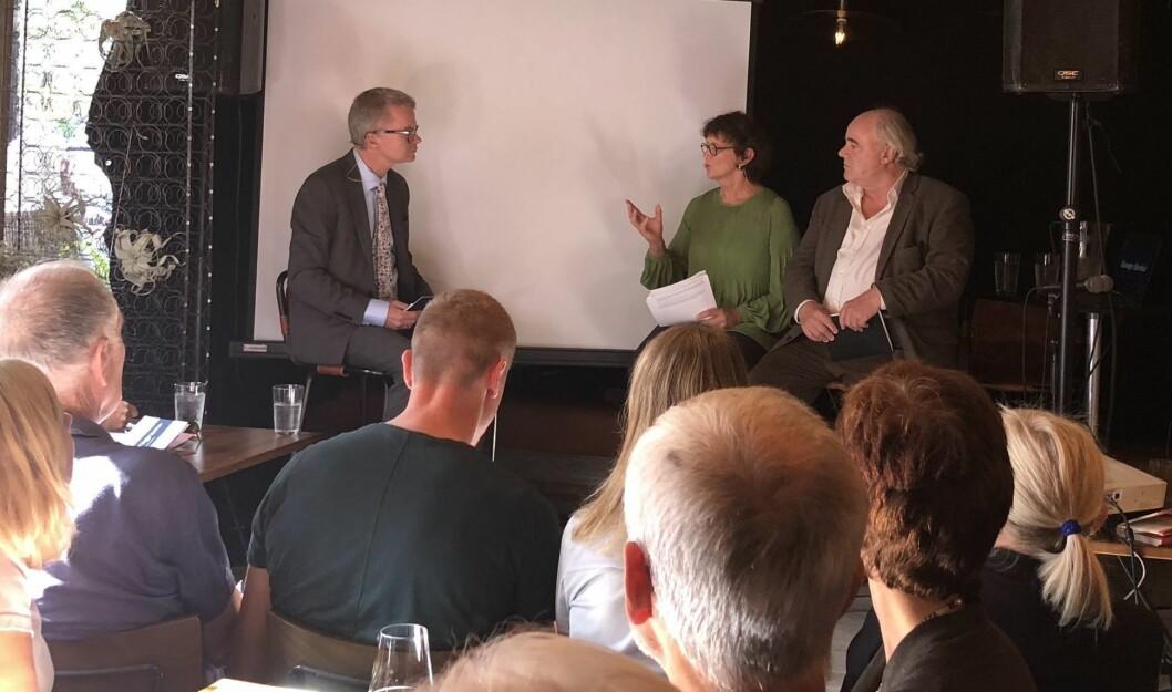 Mediedebatt mellom Lars Helle i Stavanger Aftenblad, Turid Borgen fra Universitetet i Stavanger og John Olav Egeland i Dagbladet.