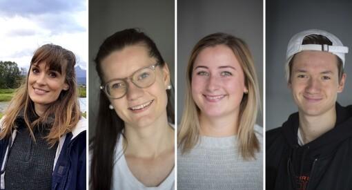 Bodø Nu utvider med tre ansatte: Rachel Elisabeth Antonsen, Maiken Johnsen og Leo Plaketti. Elin Beate Johannessen ny magasinansvarlig