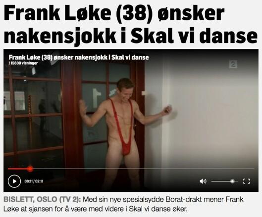 Faksimile fra TV2.no.