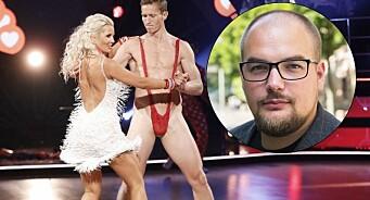 TV 2 visste at Frank Løke kom med «nakensjokket» i «Skal vi danse». Det er dobbeltmoralsk at de later som noe annet