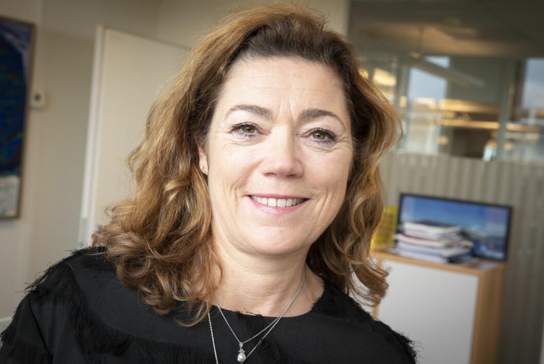 Kristin Skogen Lund, konsernsjef i Schibsted.