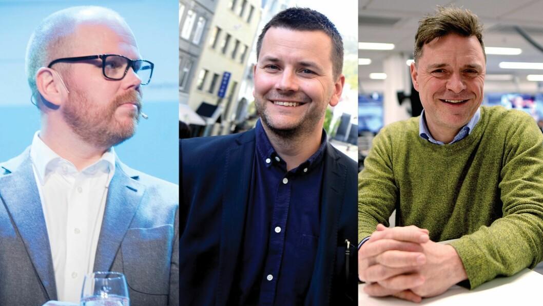 Gard Steiro, Øyulf Hjertenes og Espen Egil Hansen.