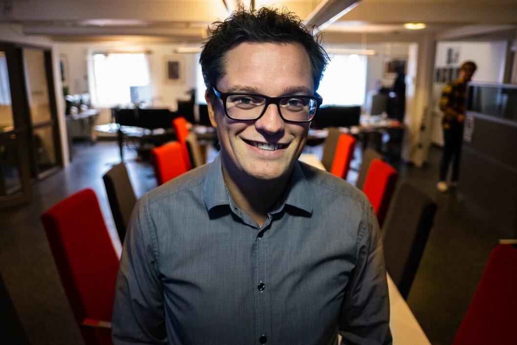 Christian Senning Andersen, sjefredaktør og administrerende redaktør i Fremover