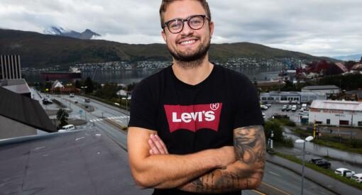 Andreas Haakonsen (25) begynte med journalistikk på slump. Etter to år i Fremover ble han nyhetsredaktør