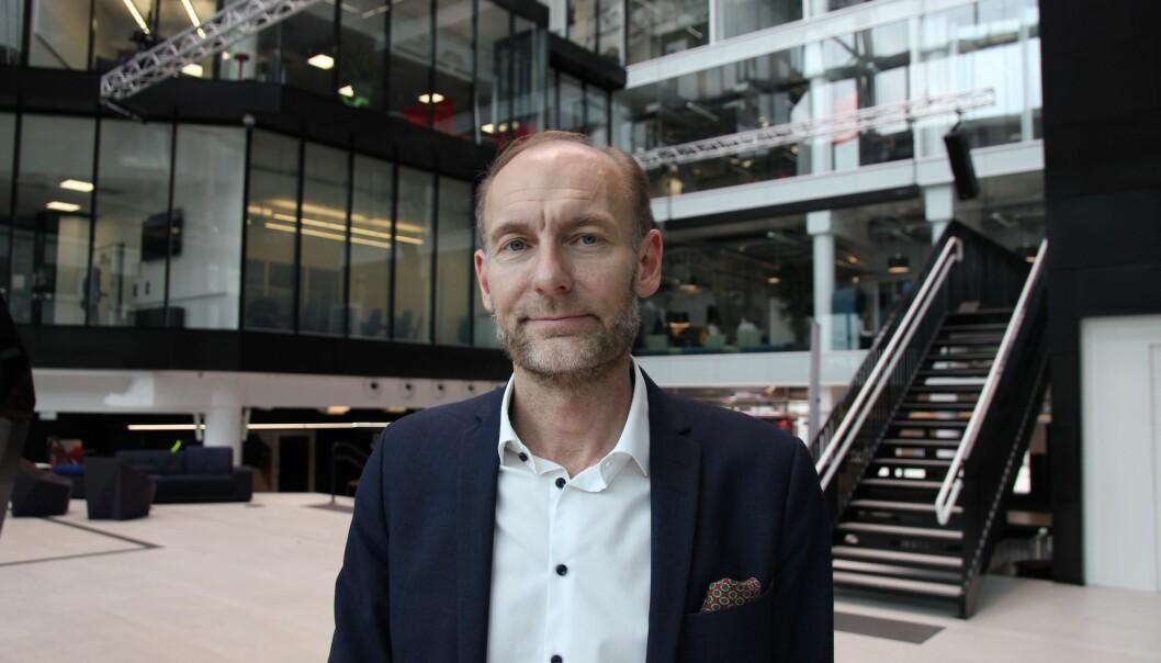 Knut Olav Åmås, direktør i Fritt Ord.