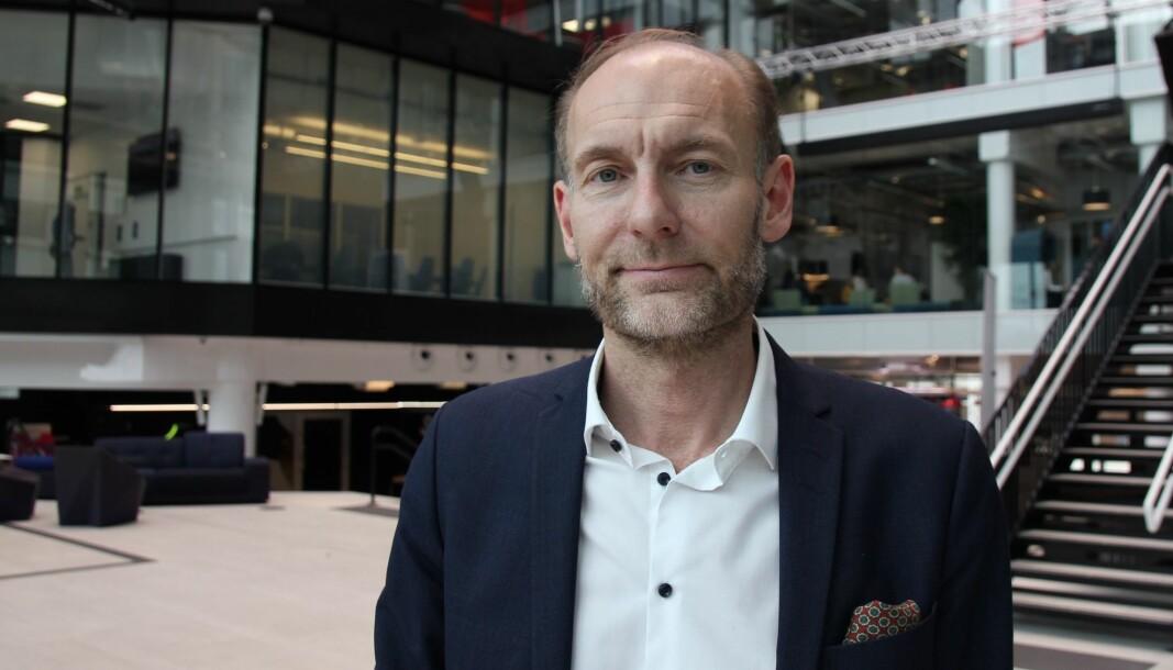 Fritt Ord-direktør Knut Olav Åmås.