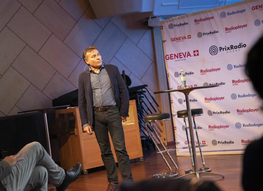 Knut-Arne Futsæter i Kantar Media under Radiodager
