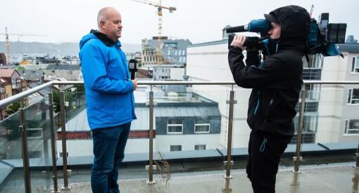 Slik dekker Roy-Arne 1/3 av Norge for TV 2