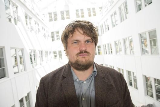 Journalist og forfatter Lars Akerhaug.