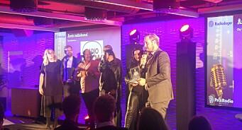 Radio Rock er årets radiokanal: Her er alle vinnerne
