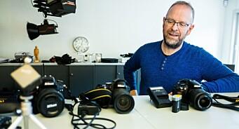 Pressefotograf Øyvinds hverdag har endret seg totalt på 36 år
