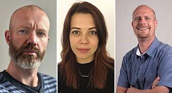 Nettavisen ansetter tre på rappen: Lars, Katinka og Stian