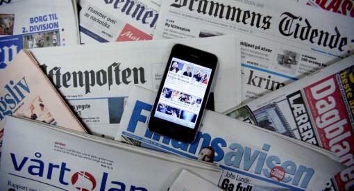 Splitter nye tall: Her er opplaget til norske aviser