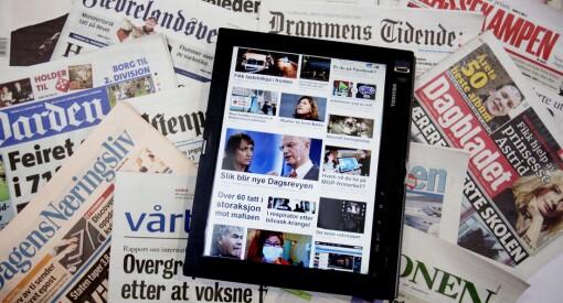 Egentlig har alle norske medier grunn til å gråte over tallene fra MBL