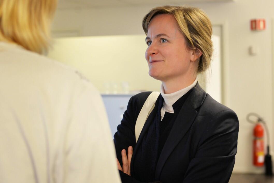 Mari Skurdal, ansvarlig redaktør i Klassekampen. Foto: Eira Lie Jor