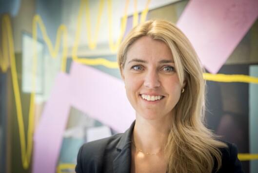 Sjefredaktør Alexandra Beverfjord i Dagbladet.